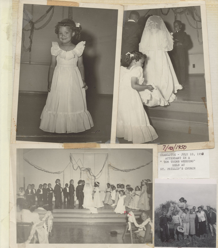 "Charlotte Rutherford ""Tom Thumb"" Wedding attendant photo"