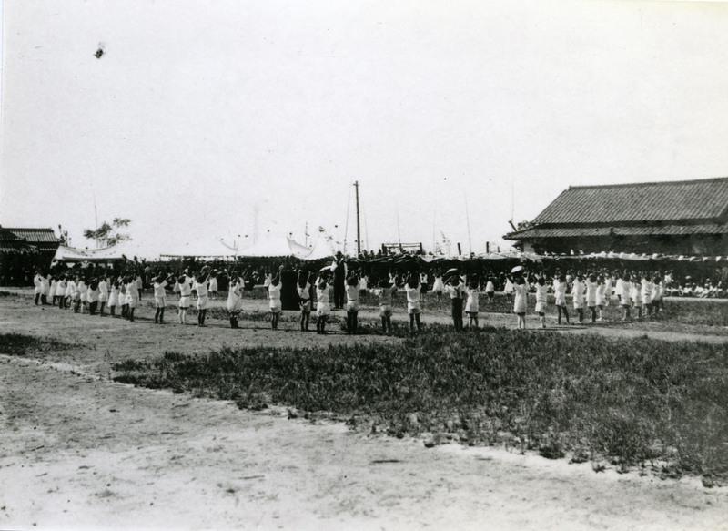 Teaching doyo buyo, Japan, late 1920s