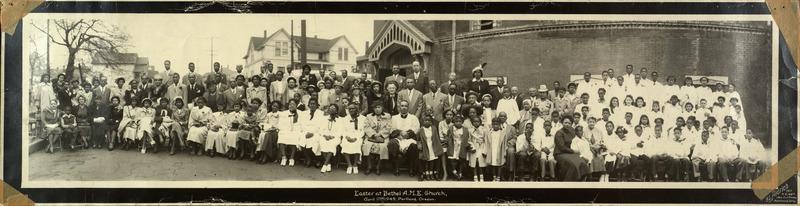 Easter at Bethel AME Church, April 17, 1949, Portland, Oregon