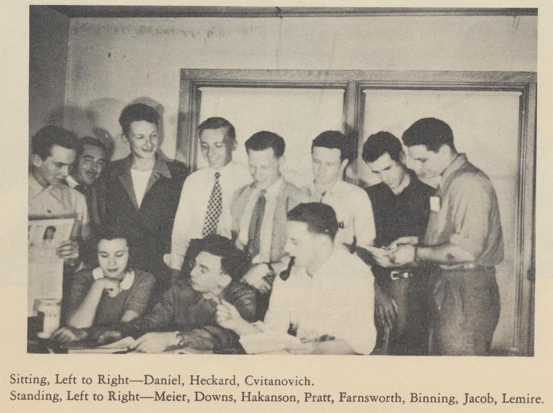 Vanguard staff, 1947