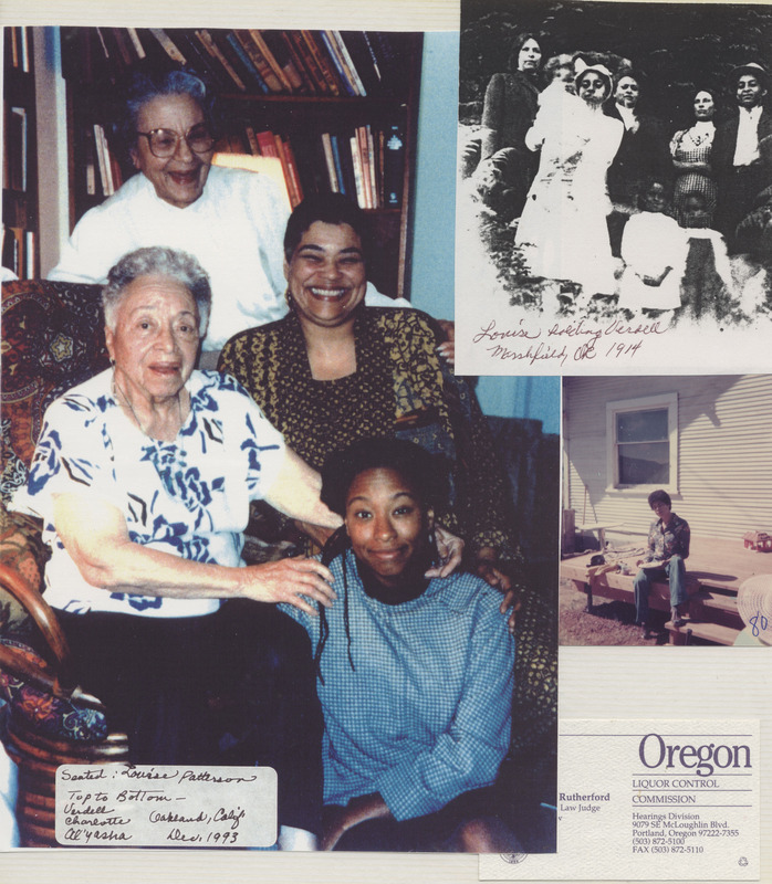 Charlotte Rutherford, Al-Yasha Williams and other female family members