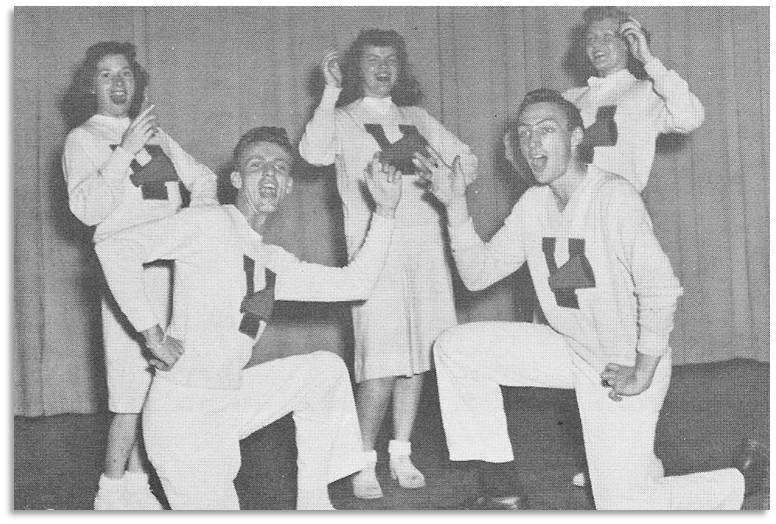 Vanport Rally Squad 1946-47