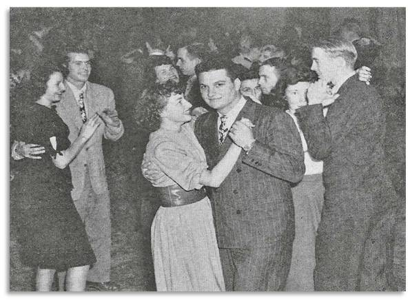 Vanport students at a Leap Year dance
