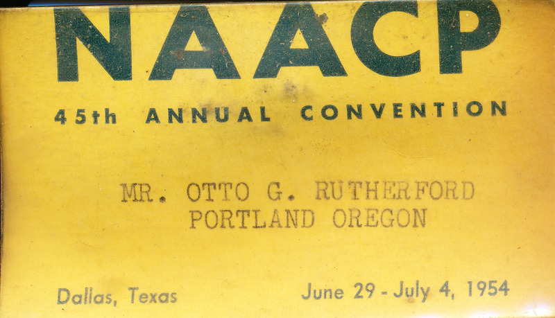 NAACP 1954 convention badge