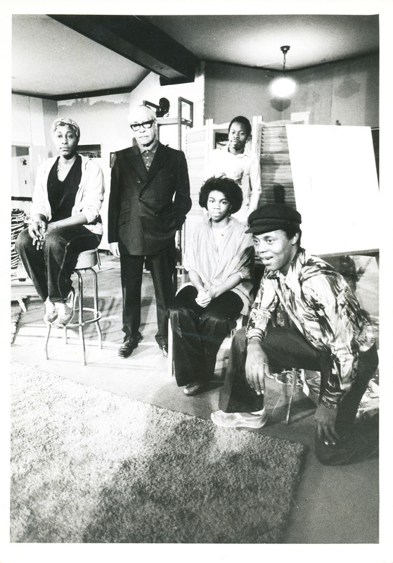 Members of the Portland Black Repertory Theater