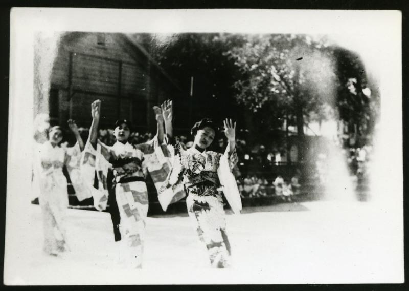 Bon odori in Tacoma, Washington, 1934.