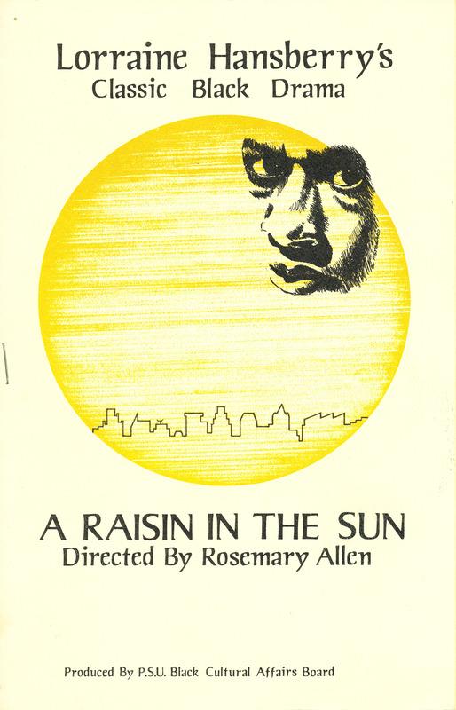 """A Raisin in the Sun"" program"