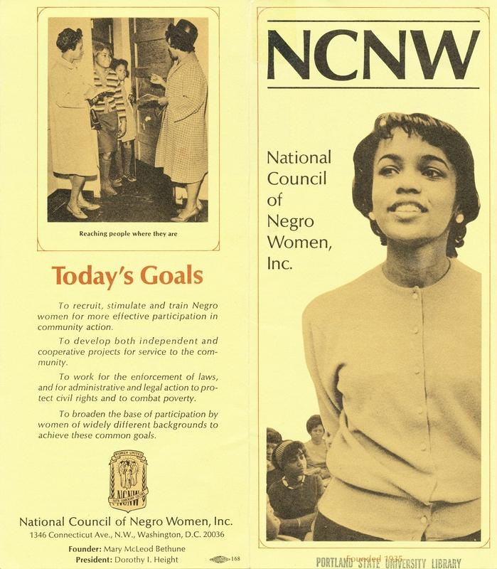 NCNW Brochure