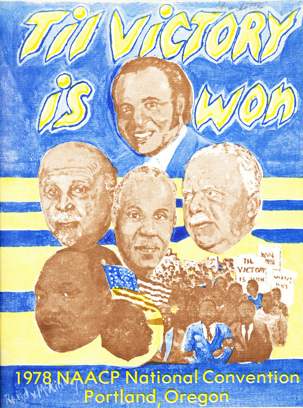 NAACP Convention Program cover