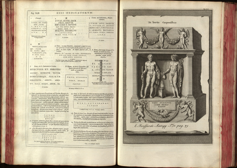 Illustration, t.1, Jan Gruterus Inscriptiones 1707