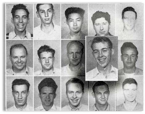 Students pictured in Vanport Viking annual, 1947-48