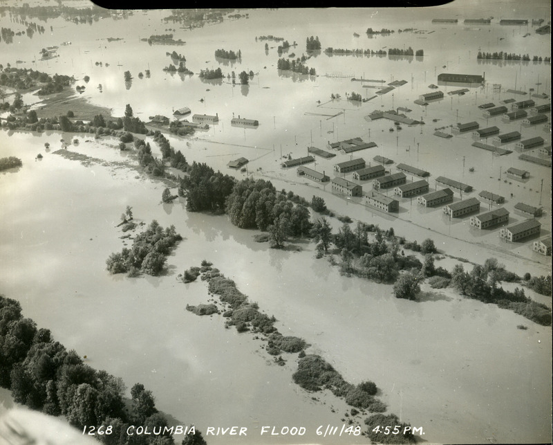 Troutdale after the flood, photo 2