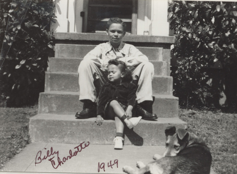 Young Charlotte and Billy Rutherford photo