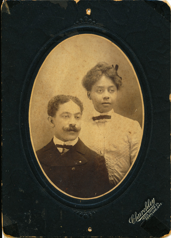 W.H. and Lottie Rutherford, 1898