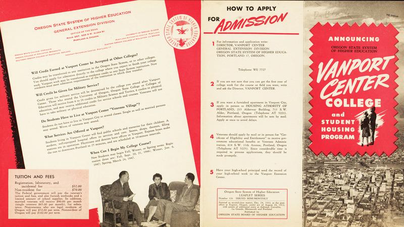 Vanport Brochure