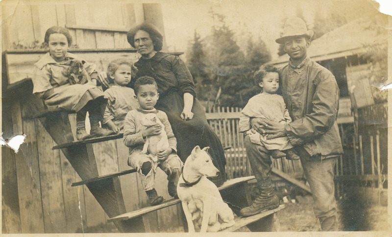 Burdine Family in 1913