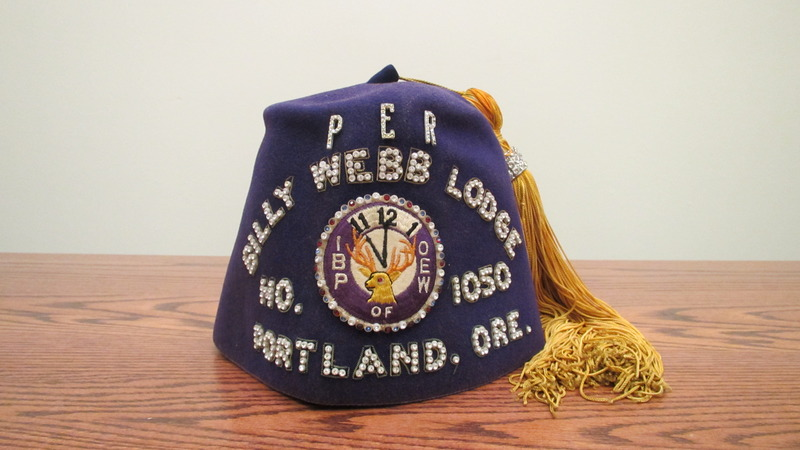 Otto Rutherford's Elks fez