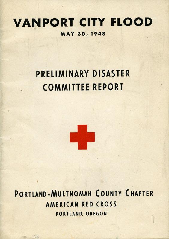 Vanport City Flood preliminary disaster report
