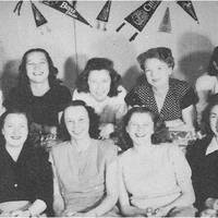 Associated Women Students Club, Vanport College, 1947