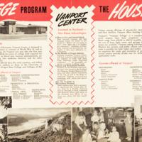 Vanport Brochure: Housing and Courses