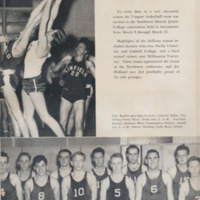 Basketball in the yearbook, 1947-48