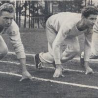 Viking runners on their mark, 1948