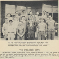 Barristers' Club, 1946-47