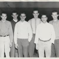 Vanport Ski Team, fall 1947