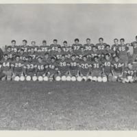 Vanport College football group photo, 1947-48